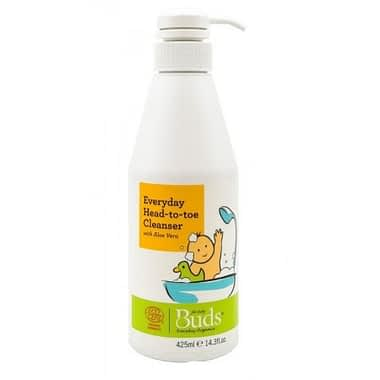 Buds Organics Everyday Baby Head to Toe Cleanser, 425ml