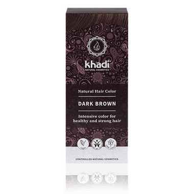 Khadi Natural Hair Colour: Dark Brown