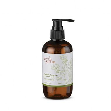 Myrtle & Moss Hand & Body wash: Bergamot Geranium