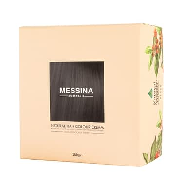 Messina Natural Hair Colour: Black
