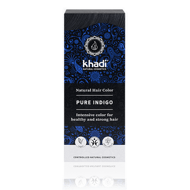 Khadi Natural Hair Colour: Pure Indigo