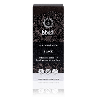 Khadi Natural Hair Colour: Black