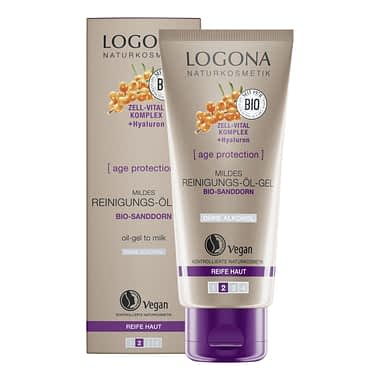 LOGONA AGE PROTECTION MILD CLEANSING OIL GEL