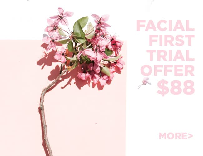 First Trial offer on Organic Facials in Singapore
