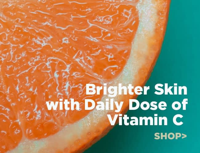 Brighter Skin Tone with Vitamin C serums