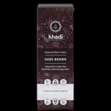 Khadi Natural Hair Colour: Dark Brown