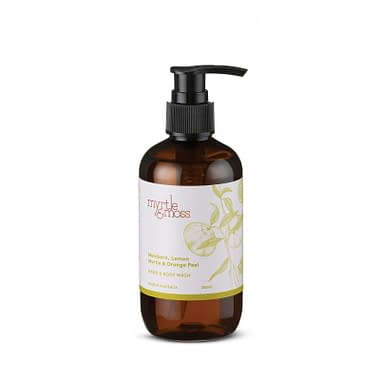 Myrtle & Moss Hand & Body Wash: Lemon Myrtle