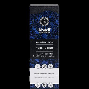 Khadi Natural Hair Colour: Pure Indigo