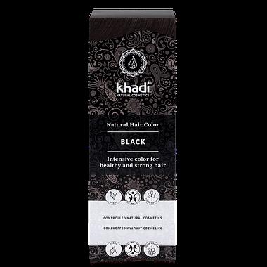 Khadi Natural Hair Colour: Black