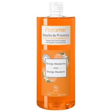 Florame Organic Shower Gel Orange Mandarin