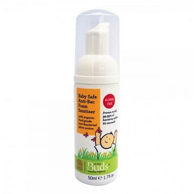 Buds Everyday Organics Baby Safe Anti-Bacterial Foam Hand Sanitiser