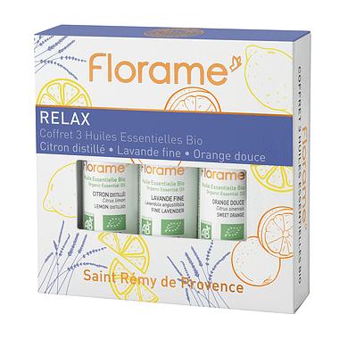 Florame Organic Essential Oils Coffret
