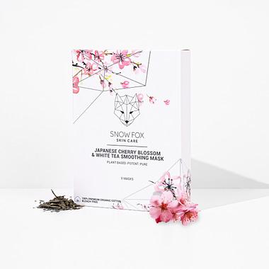 Snow Fox Japanese Cherry Blossom & White Tea Smoothing Mask